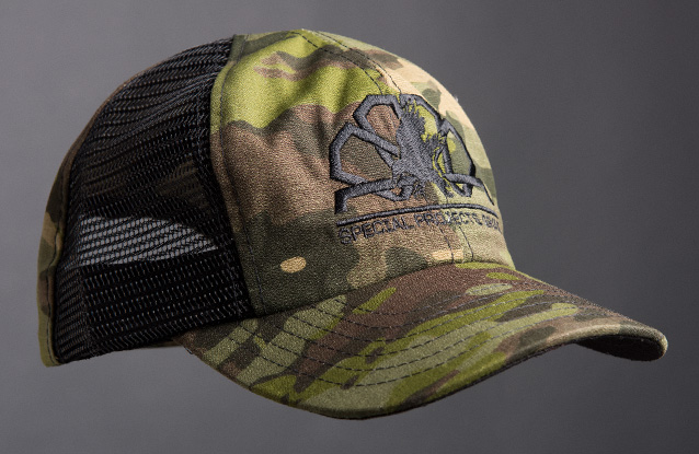 Multicam Tropic Hat Sample.